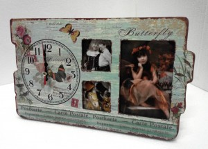 DCC1073 PHOTO FRAME DESK CLOCK1