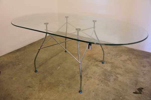 THE KARTELL GLOSSY DINING TABLE - FRM50061
