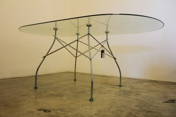 THE KARTELL GLOSSY DINING TABLE - FRM50065