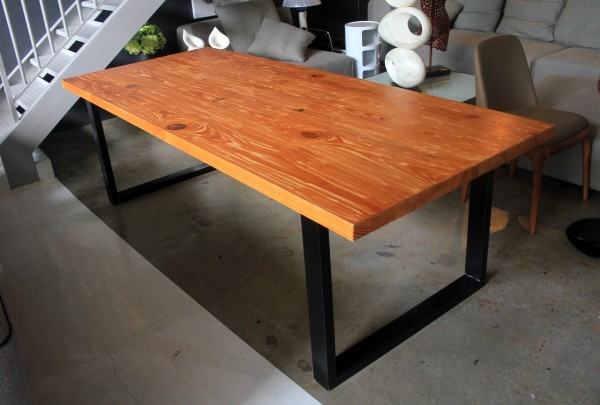 8FT SOLID PINE WOOD DINING TABLE - FRM5050B2