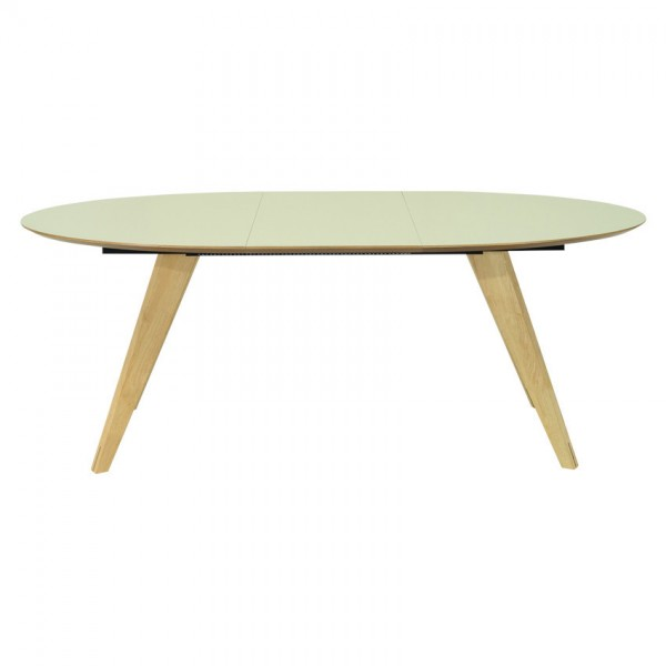 OVAL EXTENDABLE TABLE - FRM50931