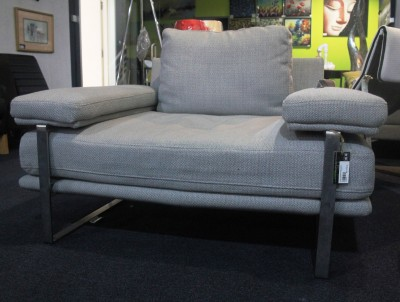 FRM6008A DESIGNER SOFA FABRIC&STAINLESS STEEL3