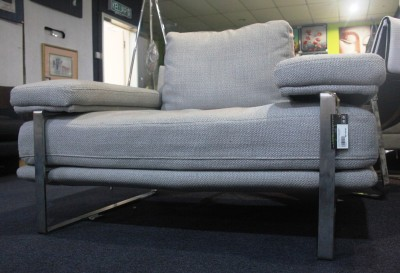 FRM6008A DESIGNER SOFA FABRIC&STAINLESS STEEL1