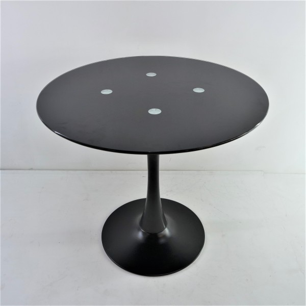ROUND GLASS DINING TABLE - FRM51461