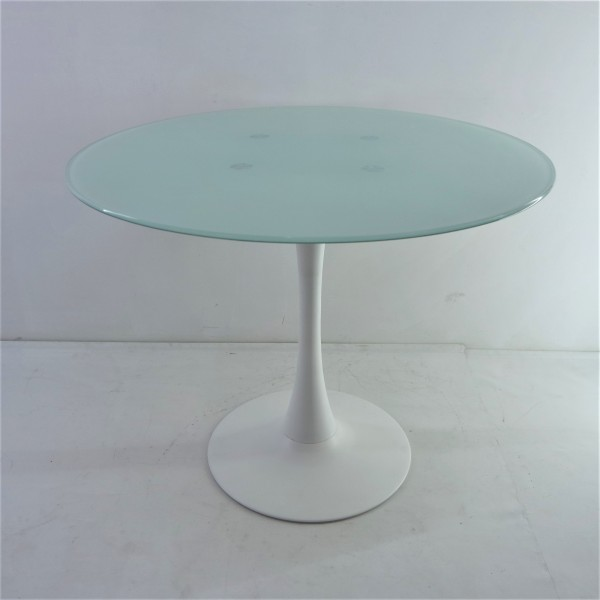 ROUND GLASS DINING TABLE - FRM51462