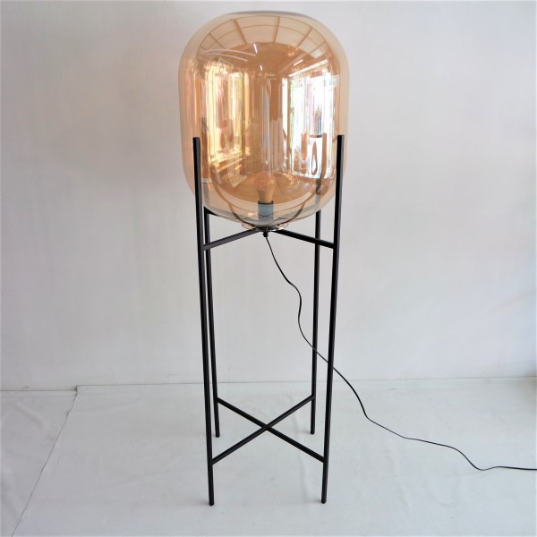 GLASS FLOOR LAMP - LTG00492