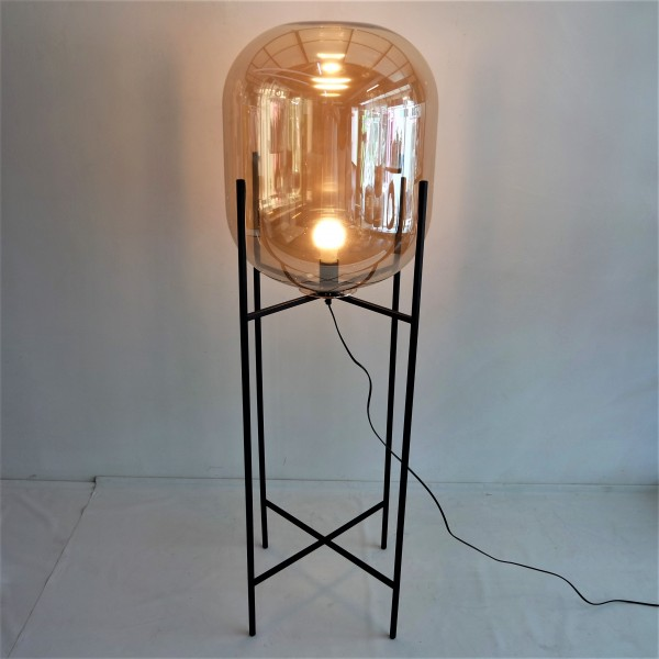 GLASS FLOOR LAMP - LTG00496