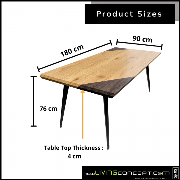N DINING TABLE - FRM51924