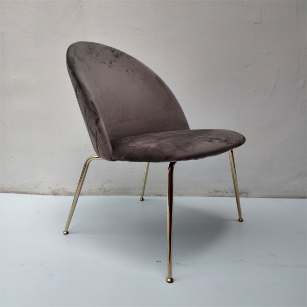 HIGH BACK LOUNGE CHAIR - FRM02341