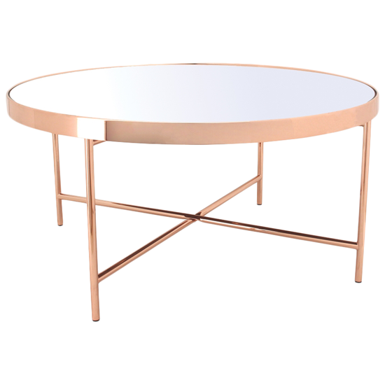 COPPER COFFEE TABLE - FRM30731