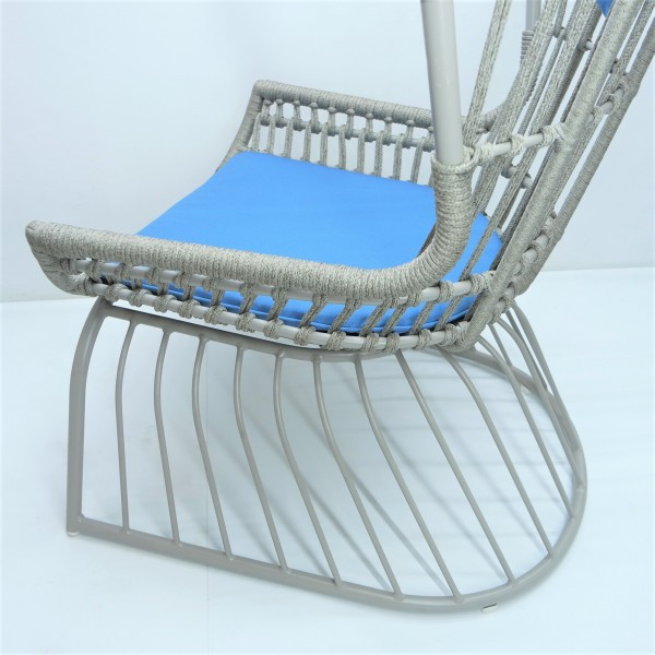 OUTDOOR HIGH BACK LOUNGE CHAIR - FRM80383