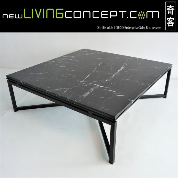 SQUARE MARBLE COFFEE TABLE - FRM20801