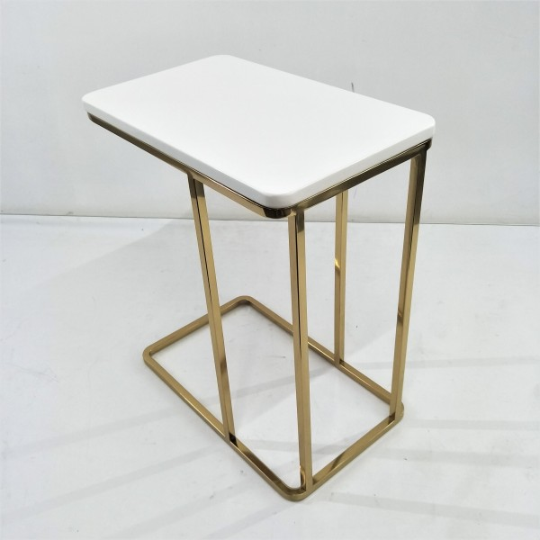 RECTANGLE MARBLE SIDE TABLE - FRM21171