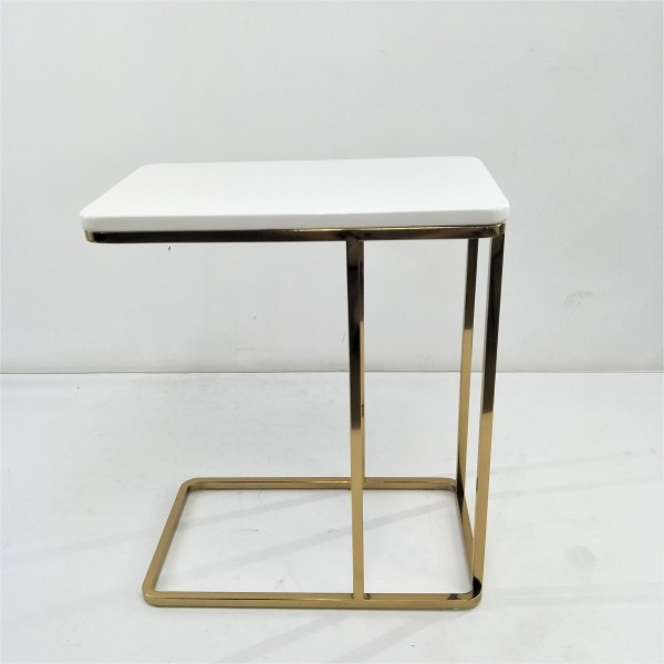 RECTANGLE MARBLE SIDE TABLE - FRM21172