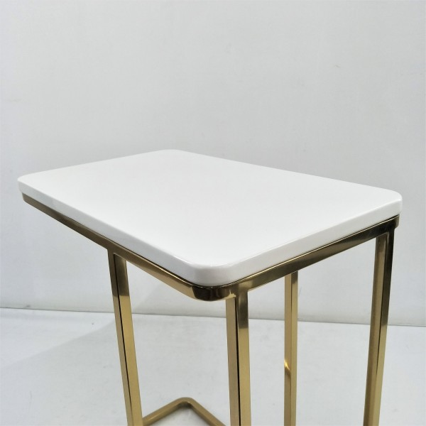 RECTANGLE MARBLE SIDE TABLE - FRM21174