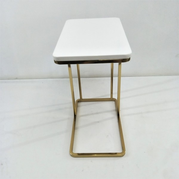 RECTANGLE MARBLE SIDE TABLE - FRM21175