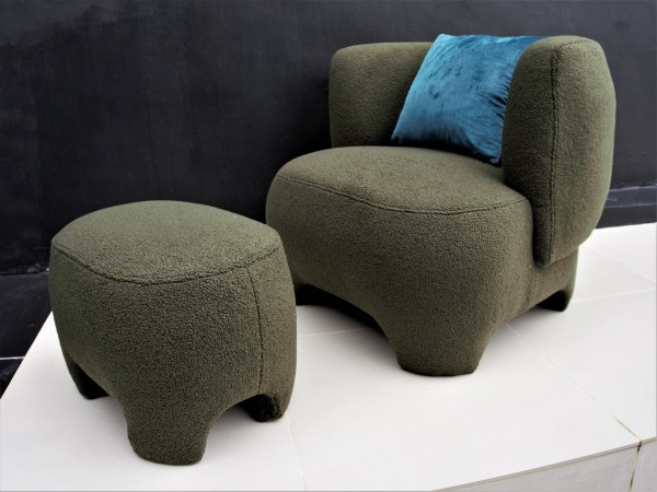 1 SEATER SOFA - FRM6286A-FGR3
