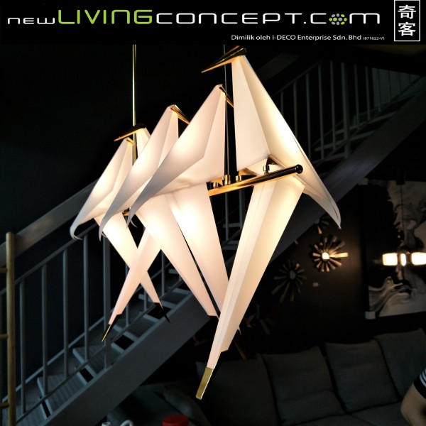 LED BIRD PENDANT LAMP - LTC00601
