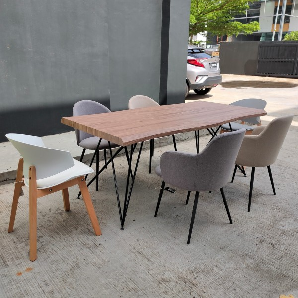 1.8M WALNUT DINING TABLE - FRM51796