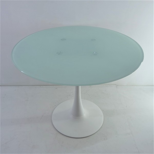 ROUND GLASS DINING TABLE - FRM51471