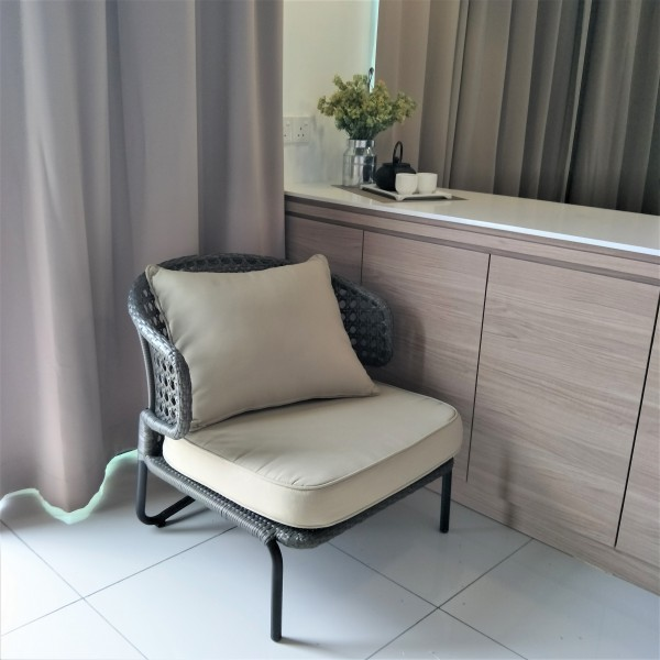 1 SEATER OUTDOOR CHAIR - FRM8027A2
