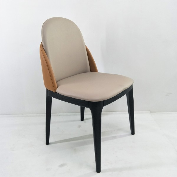 SOLID ASH WOOD DINING CHAIR - FRM02411