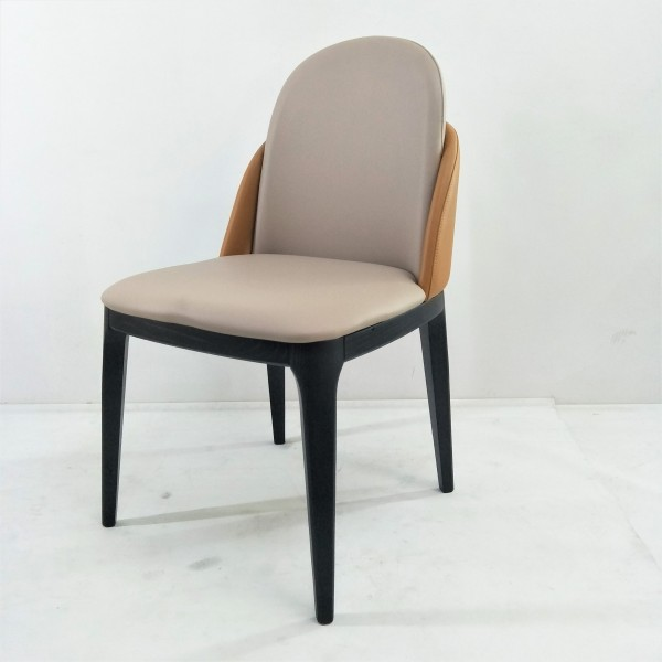 SOLID ASH WOOD DINING CHAIR - FRM02412