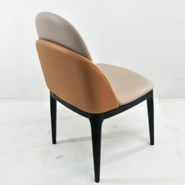 SOLID ASH WOOD DINING CHAIR - FRM02413