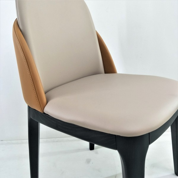 SOLID ASH WOOD DINING CHAIR - FRM02414