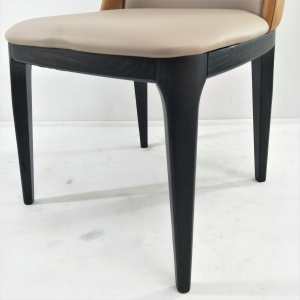 SOLID ASH WOOD DINING CHAIR - FRM02416