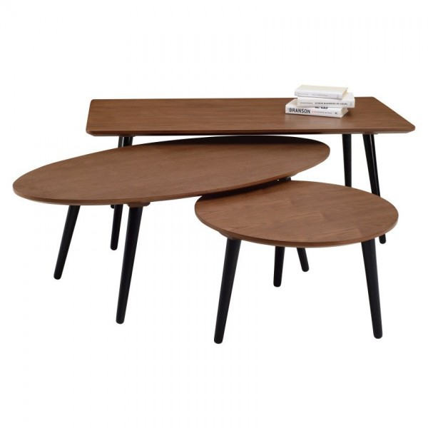 OVAL COFFEE TABLE - FRM2076B2