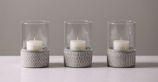 DECORATION CANDLE HOLDER -  DCT91116