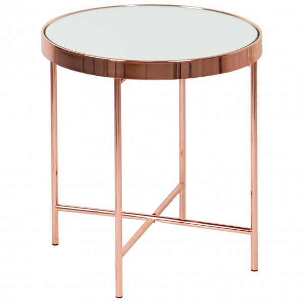 ROSE GOLD SIDE TABLE-FRM20942