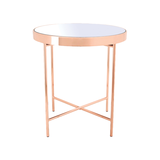 ROSE GOLD SIDE TABLE-FRM20943