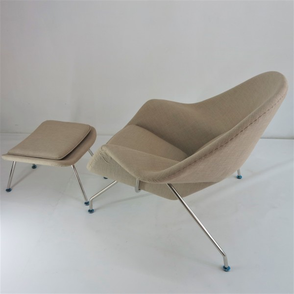 WOMB CHAIR WITH OTTOMAN - FRM71495