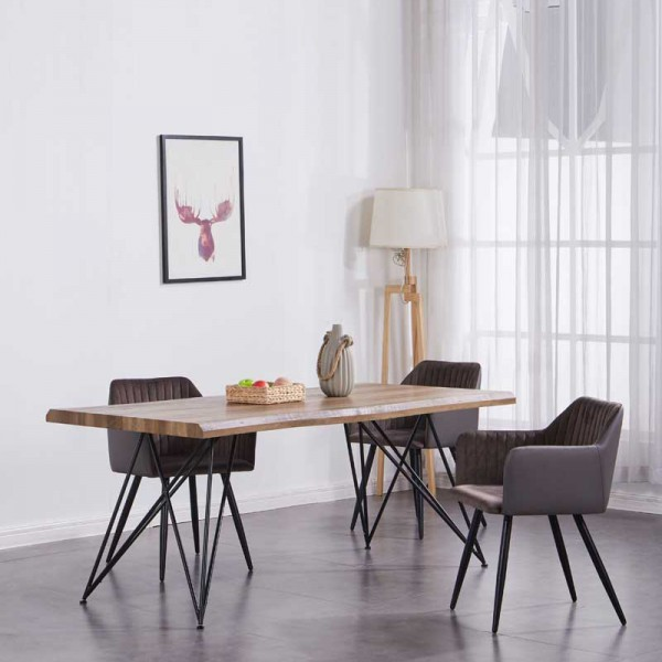1.8M WALNUT DINING TABLE - FRM51792