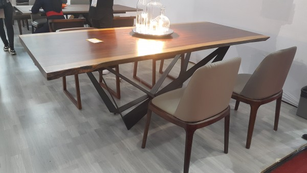 MERBAU SLAB DINING TABLE - FRM51223