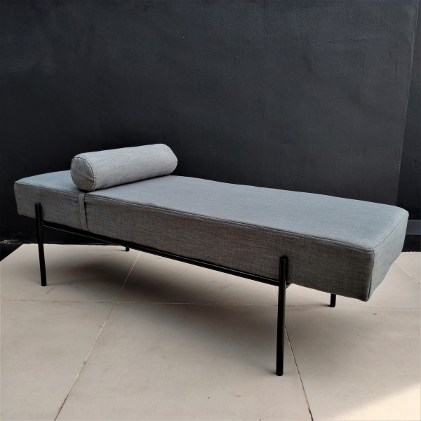 Modern Day Bed / Chester Ottoman - FRM40093