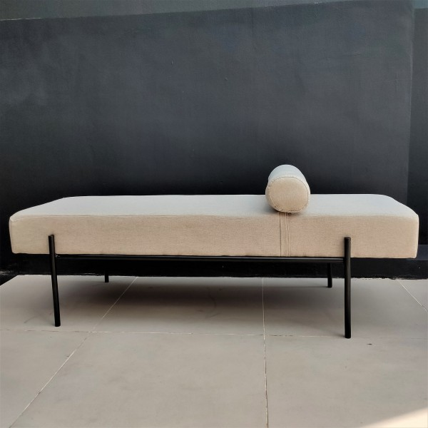 Modern Day Bed / Chester Ottoman - FRM40094