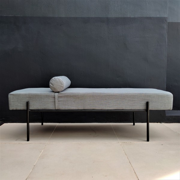 Modern Day Bed / Chester Ottoman - FRM40095