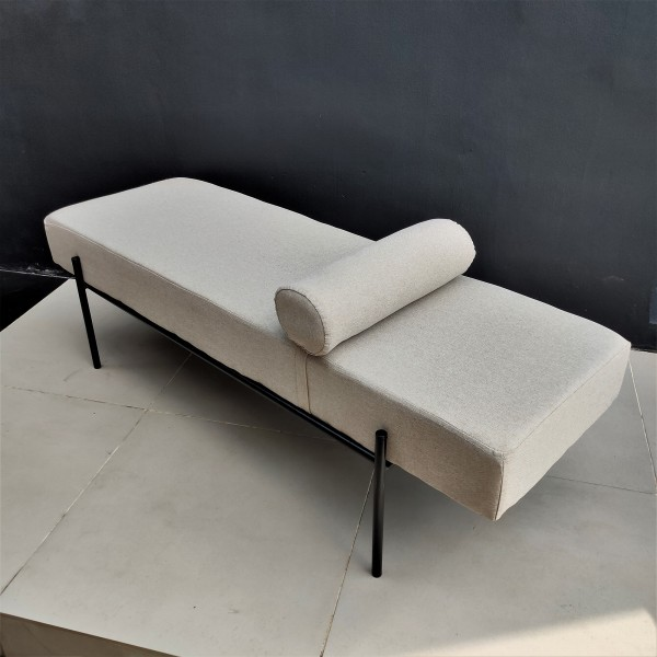 Modern Day Bed / Chester Ottoman - FRM40096