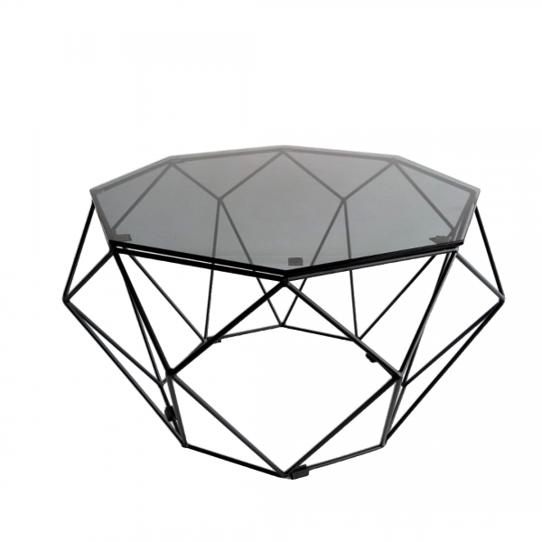 BLACK IRON COFFEE TABLE - FRM3063A-B1