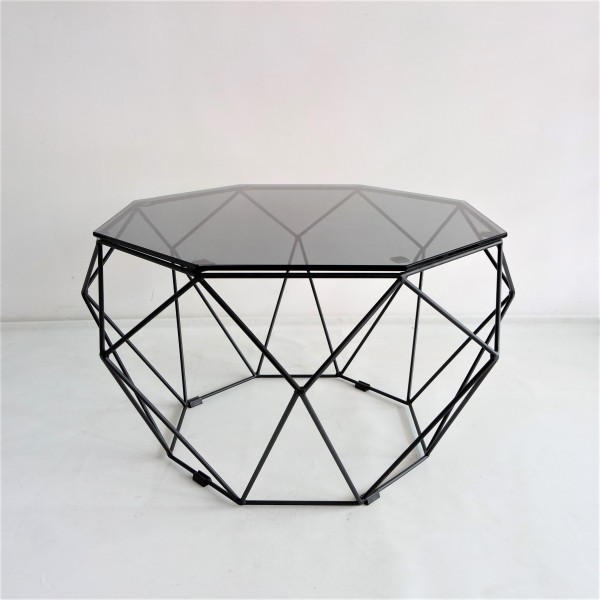 BLACK IRON COFFEE TABLE - FRM3063A-B2