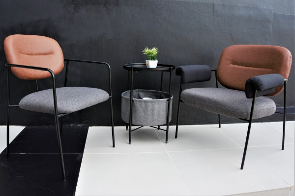 ROUND BEDISE TABLE / SIDE TABLE - FRM21225