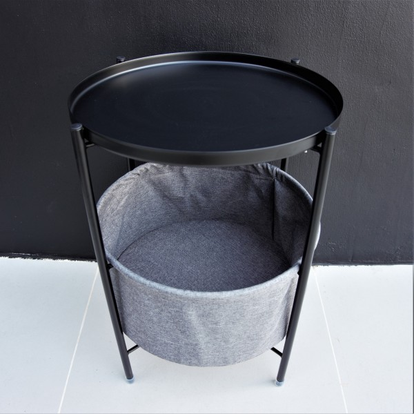 ROUND BEDISE TABLE / SIDE TABLE - FRM21226