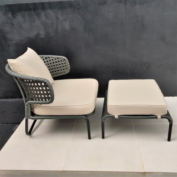 1 SEATER OUTDOOR CHAIR - FRM8027A3