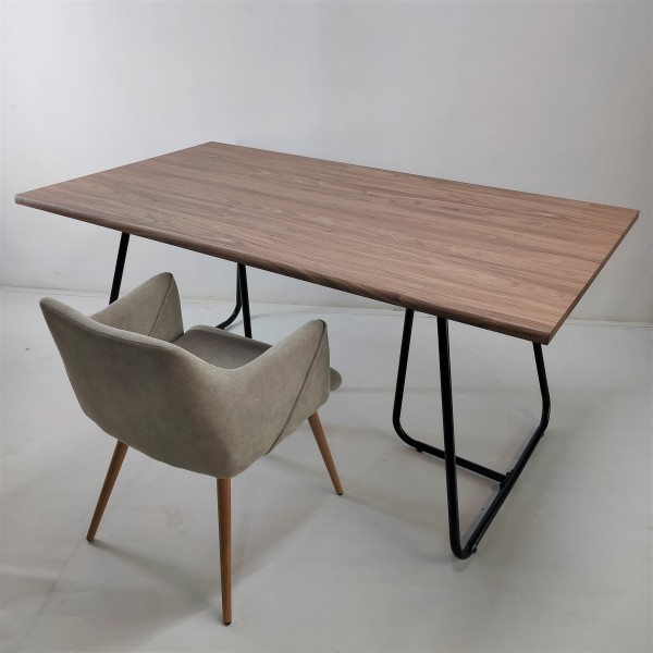 WALNUT DINING TABLE - FRM51802