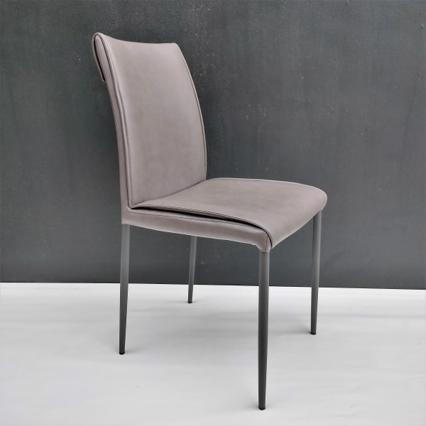 PU DINING CHAIR - FRM0213-PBR1