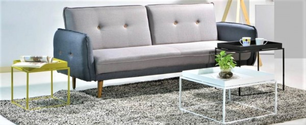 RECTANGLE METAL SIDE TABLE - FRM2092-W3