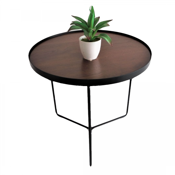 WALNUT SIDE TABLE - FRM2098-WN1